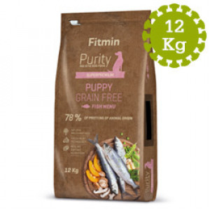 Fitmin dog Purity GF Puppy Fish - 12 kg